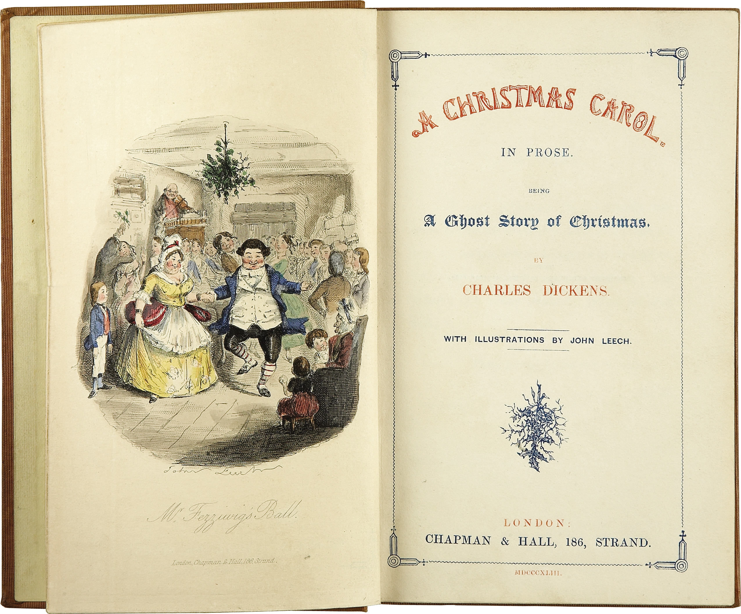 First edition of Christmas Carol, 1843