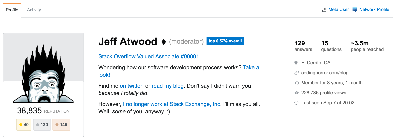Exploring StackOverflow